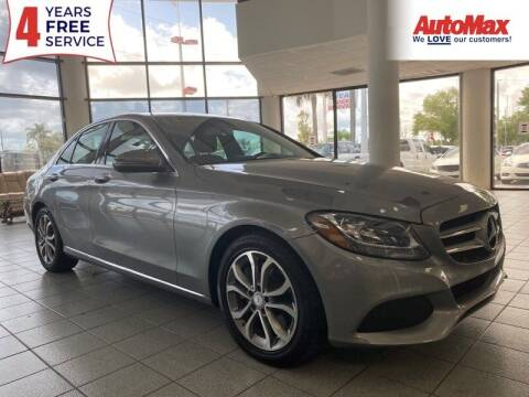 2016 Mercedes-Benz C-Class for sale at Auto Max in Hollywood FL