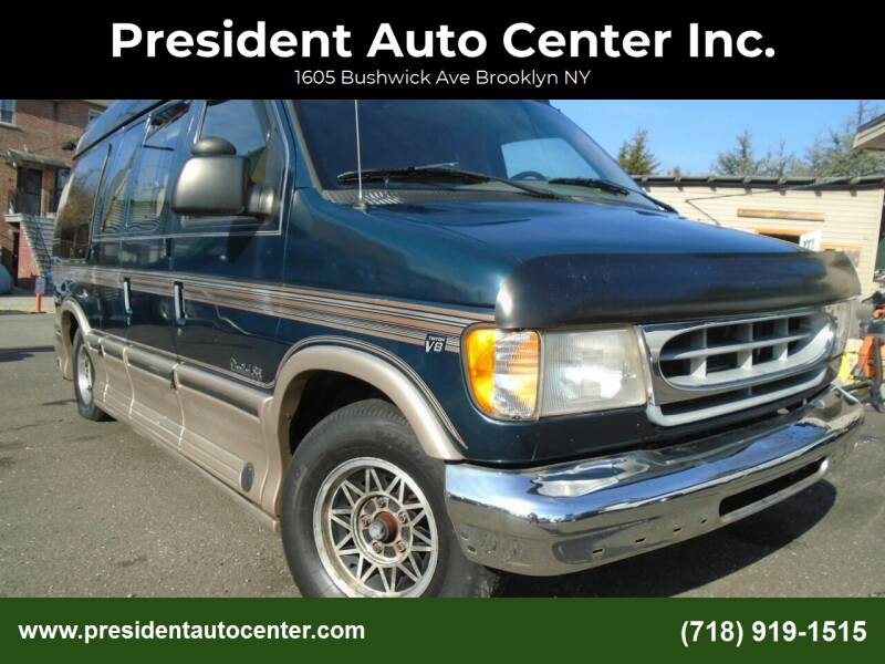 1998 Ford E-Series Cargo for sale at President Auto Center Inc. in Brooklyn NY