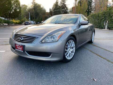 2008 Infiniti G37 for sale at Apex Motors Inc. in Tacoma WA