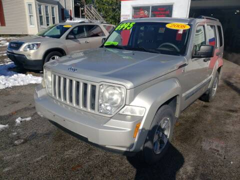 2008 Jeep Liberty for sale at TC Auto Repair and Sales Inc in Abington MA