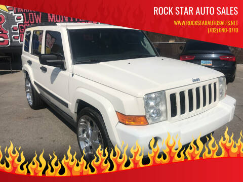 2006 Jeep Commander for sale at Rock Star Auto Sales in Las Vegas NV