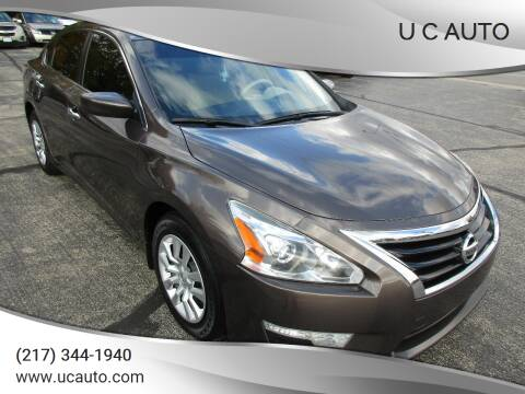 2015 Nissan Altima for sale at U C AUTO in Urbana IL