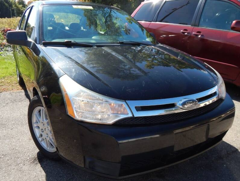 2010 Ford Focus for sale at PARAGON AUTO SALES in Portage MI
