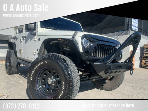 2007 Jeep Wrangler Unlimited for sale at O A Auto Sale in Paterson NJ