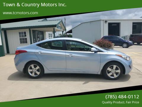 2013 Hyundai Elantra for sale at Town & Country Motors Inc. in Meriden KS