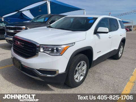 2017 GMC Acadia for sale at JOHN HOLT AUTO GROUP, INC. in Chickasha OK
