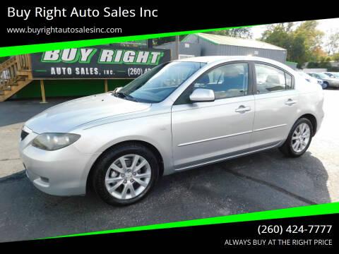 2007 Mazda MAZDA3 for sale at Buy Right Auto Sales Inc in Fort Wayne IN