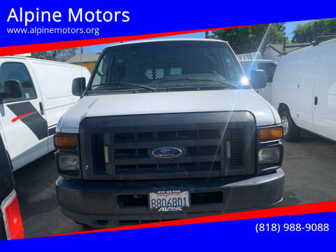 2011 Ford E-Series Cargo for sale at Alpine Motors in Van Nuys CA