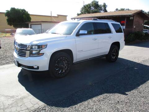 2017 Chevrolet Tahoe for sale at Manzanita Car Sales in Gridley CA
