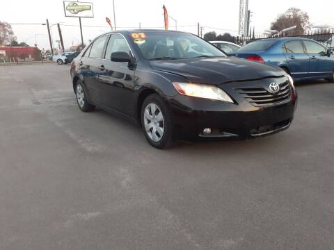 2007 Toyota Camry for sale at COMMUNITY AUTO in Fresno CA