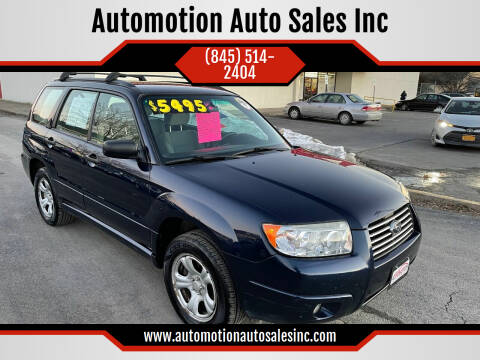 2006 Subaru Forester for sale at Automotion Auto Sales Inc in Kingston NY