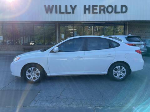 2010 Hyundai Elantra for sale at Willy Herold Automotive in Columbus GA