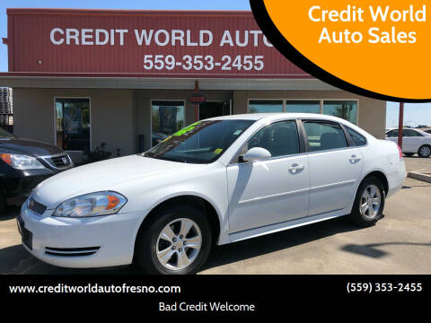 2014 Chevrolet Impala Limited for sale at Credit World Auto Sales in Fresno CA