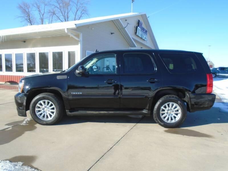 2011 Chevrolet Tahoe Hybrid for sale at Milaca Motors in Milaca MN