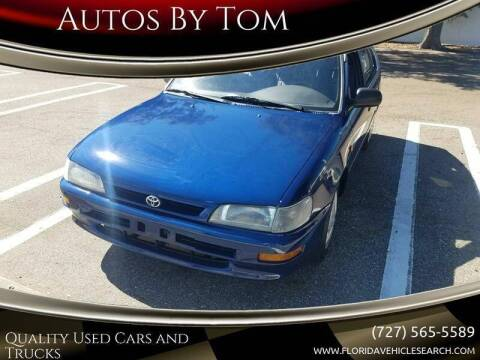 1997 Toyota Corolla for sale at Autos by Tom in Largo FL