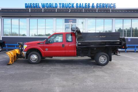 2011 Ford F-350 Super Duty for sale at Diesel World Truck Sales - Dump Truck in Plaistow NH