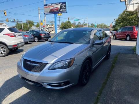 2014 Chrysler 200 for sale at Union Avenue Auto Sales in Hazlet NJ