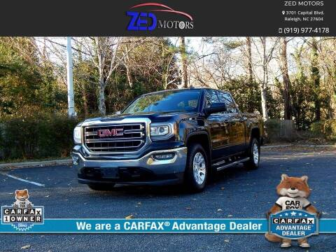 2017 GMC Sierra 1500 for sale at Zed Motors in Raleigh NC