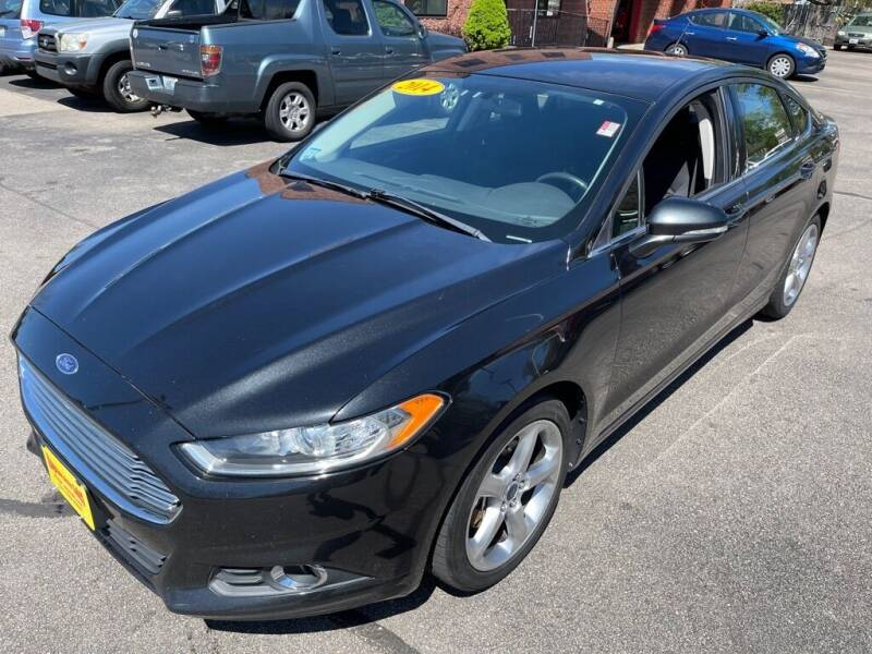 2014 Ford Fusion for sale at KINGSTON AUTO SALES in Wakefield RI