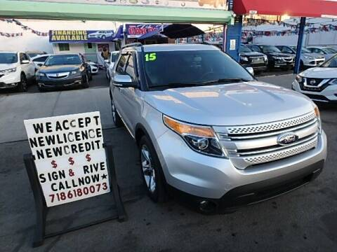 2015 Ford Explorer for sale at Cedano Auto Mall Inc in Bronx NY