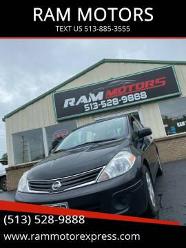 2011 Nissan Versa for sale at RAM MOTORS in Cincinnati OH