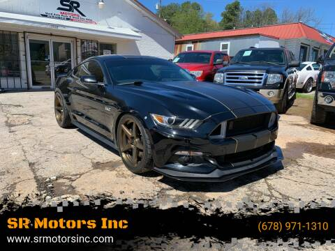 2016 Ford Mustang for sale at SR Motors Inc in Gainesville GA