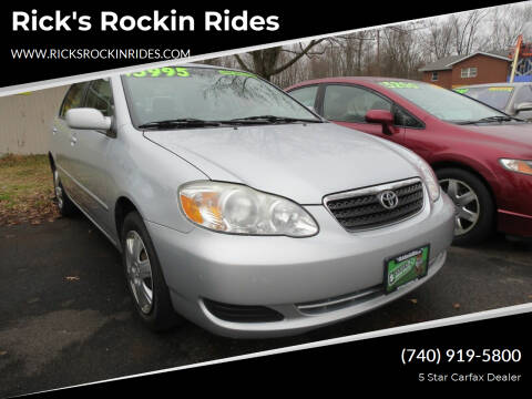 2008 Toyota Corolla for sale at Rick's Rockin Rides in Reynoldsburg OH