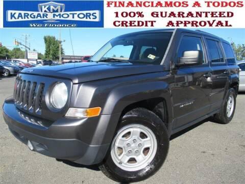 2015 Jeep Patriot for sale at Kargar Motors of Manassas in Manassas VA