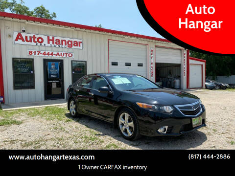 2012 Acura TSX for sale at Auto Hangar in Azle TX