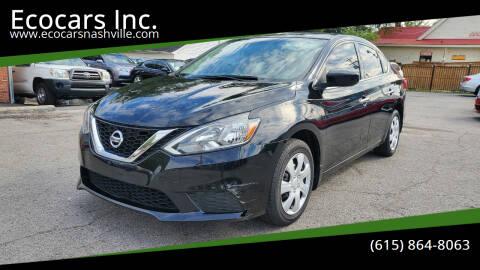 2017 Nissan Sentra for sale at Ecocars Inc. in Nashville TN