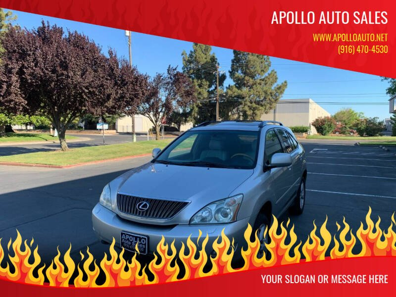 2007 Lexus RX 350 for sale at APOLLO AUTO SALES in Sacramento CA
