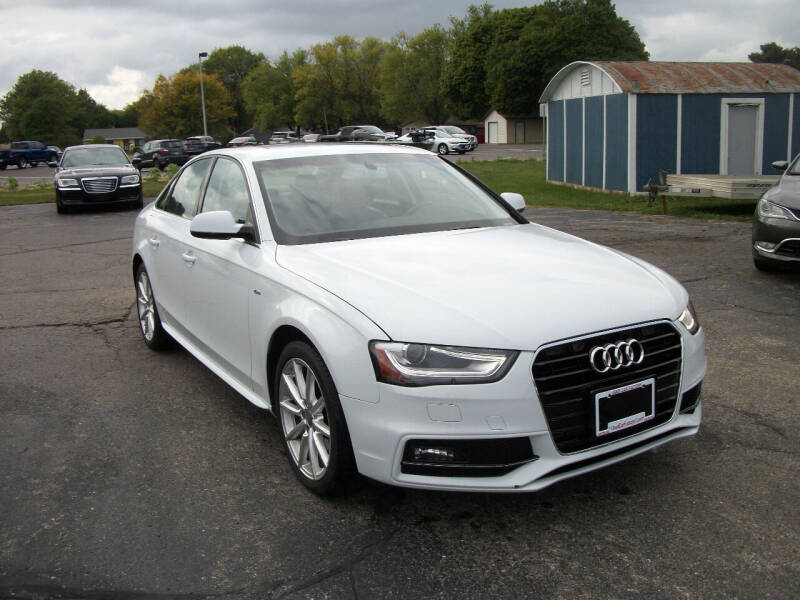 2014 Audi A4 for sale at USED CAR FACTORY in Janesville WI