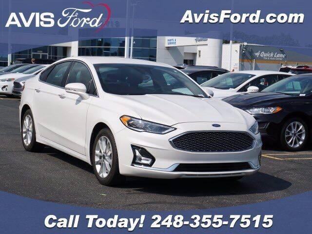 2019 Ford Fusion Energi for sale in Southfield, MI