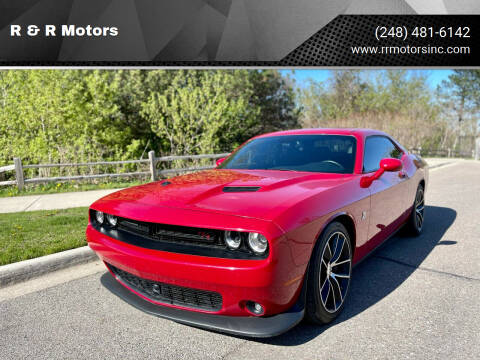 2016 Dodge Challenger for sale at R & R Motors in Waterford MI