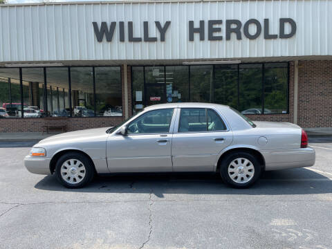 2004 Mercury Grand Marquis for sale at Willy Herold Automotive in Columbus GA