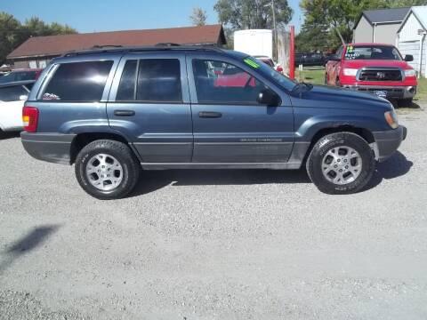 2001 Jeep Grand Cherokee for sale at BRETT SPAULDING SALES in Onawa IA