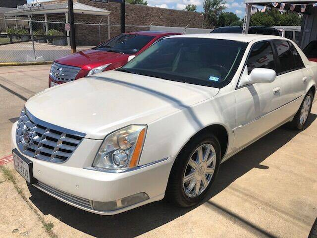 2008 Cadillac DTS for sale at East Dallas Automotive in Dallas TX