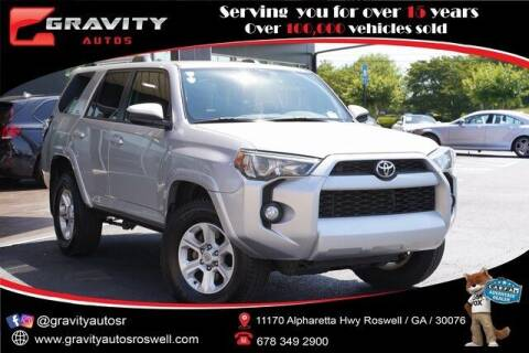 2019 Toyota 4Runner for sale at Gravity Autos Roswell in Roswell GA