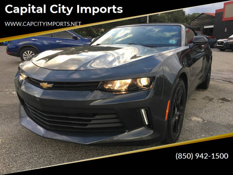 2017 Chevrolet Camaro for sale at Capital City Imports in Tallahassee FL