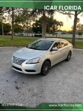 2014 Nissan Sentra for sale at ICar Florida in Lutz FL
