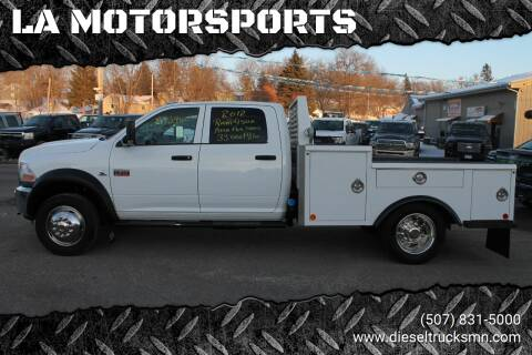 2012 RAM Ram Chassis 4500 for sale at LA MOTORSPORTS in Windom MN