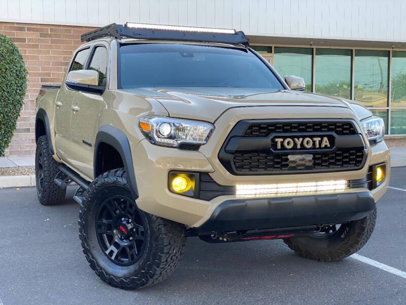 2018 Toyota Tacoma for sale at AKOI Motors in Tempe AZ