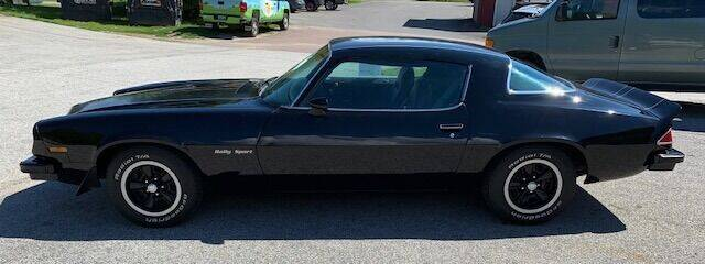 1975 Chevrolet Camaro for sale at Past & Present MotorCar in Waterbury Center VT