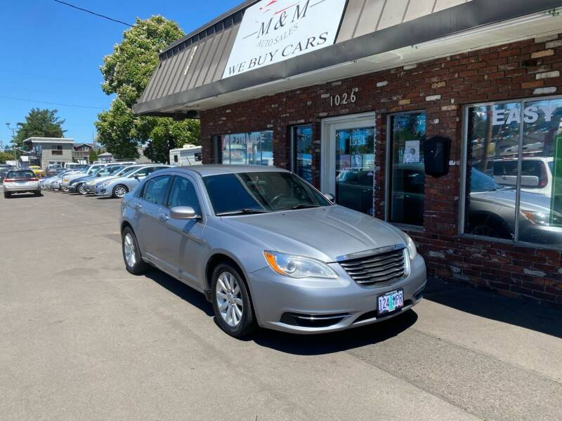 2014 Chrysler 200 for sale at M&M Auto Sales in Portland OR
