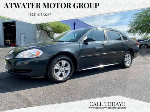2012 Chevrolet Impala for sale at Atwater Motor Group in Phoenix AZ
