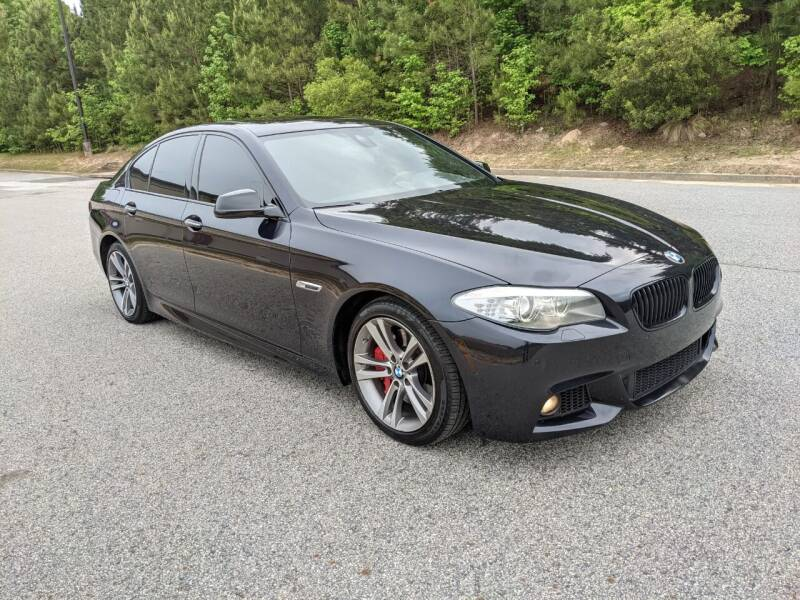 2013 BMW 5 Series for sale at United Luxury Motors in Stone Mountain GA