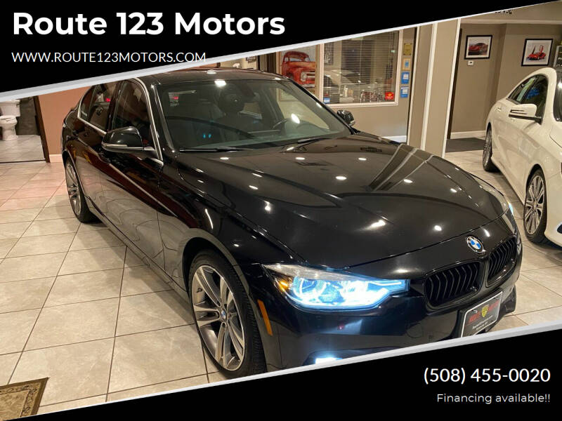 2017 BMW 3 Series for sale at Route 123 Motors in Norton MA