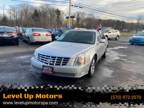 2010 Cadillac DTS for sale at Level Up Motors in Tobyhanna PA