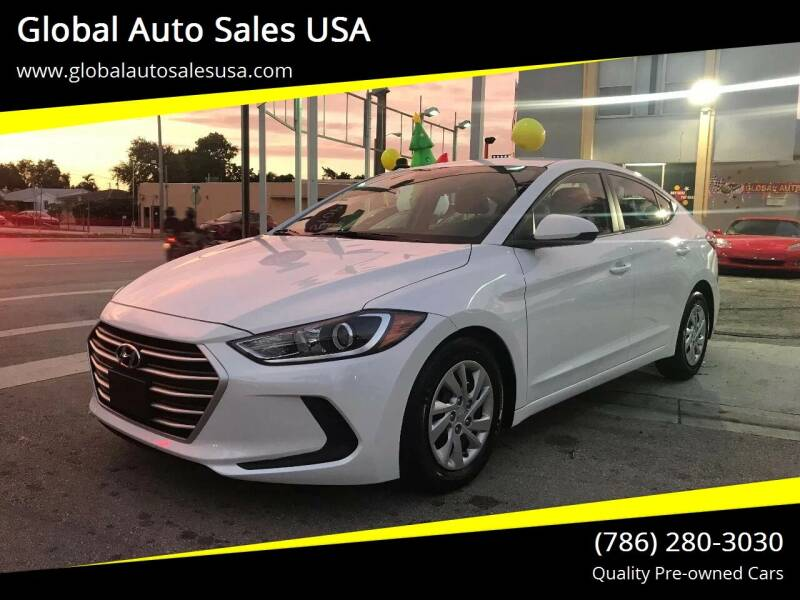 2017 Hyundai Elantra for sale at Global Auto Sales USA in Miami FL
