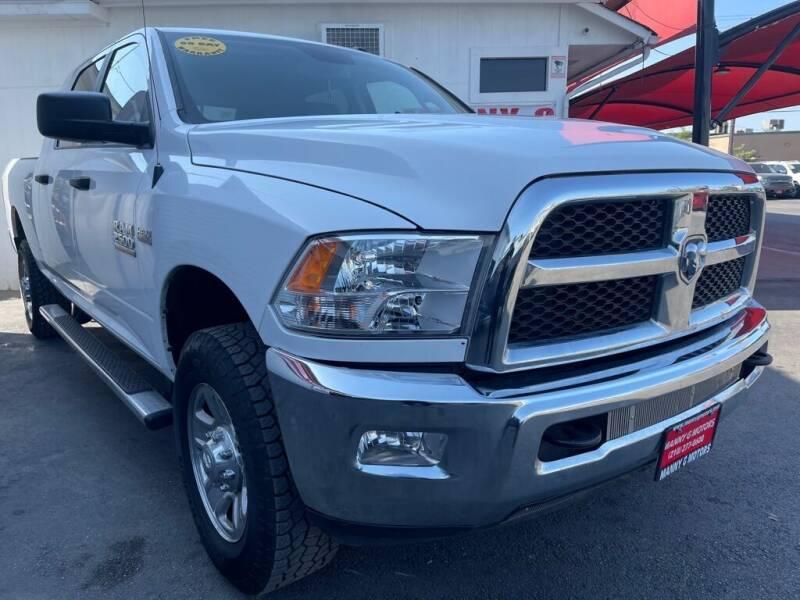 2014 RAM Ram Pickup 2500 for sale at Manny G Motors in San Antonio TX